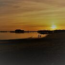 Clacton Pier Sunset by wiggyofipswich