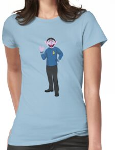 The Count Spock Womens Fitted T-Shirt