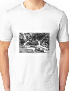 Lumsdale Valley Waterfall Unisex T-Shirt