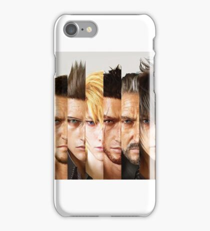 Final Fantasy XV characters iPhone Case/Skin