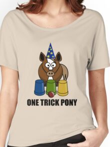 One Trick Pony Women's Relaxed Fit T-Shirt