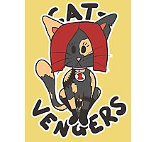 Cat Widow Photographic Print