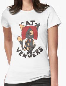 Cat Widow Womens Fitted T-Shirt