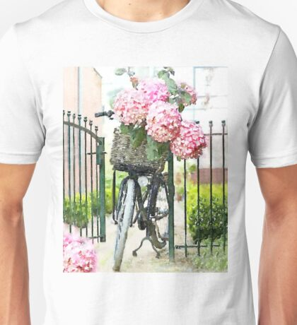 French Bicycle Unisex T-Shirt