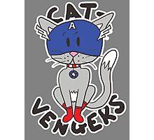 Cap' Cat Photographic Print