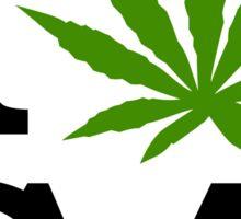 I Love Marijuana California Cannabis Sticker