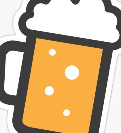 Beer stein sticker Sticker
