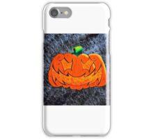 Halloween Pumpkin Jack o Lantern  iPhone Case/Skin
