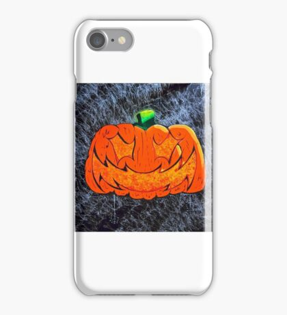 Halloween Pumpkin Jack o Lantern  iPhone Case/Skin