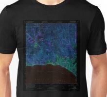USGS TOPO Map California CA Topanga 300899 1952 24000 geo Inverted Unisex T-Shirt