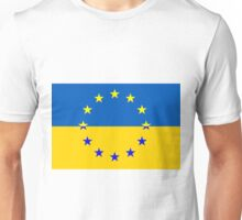 Ukraine in the EU Unisex T-Shirt
