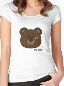 the Bear - Pride Women's Fitted Scoop T-Shirt