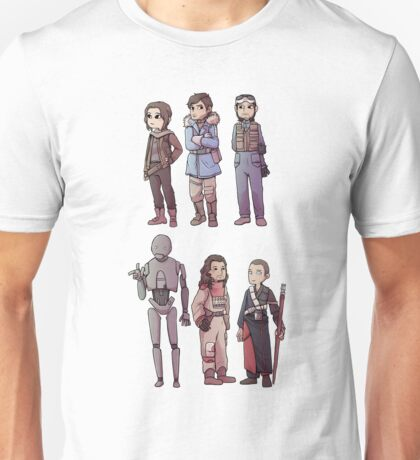 Rogue One Stickers Unisex T-Shirt