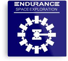 Inspired by Interstellar - Endurance Space Craft Metal Print