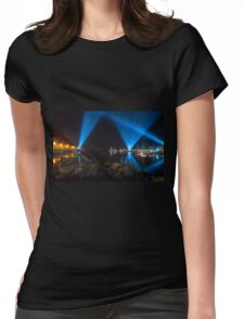 Articulated Intersect Womens Fitted T-Shirt