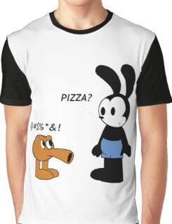 Oswald and Q*bert Graphic T-Shirt
