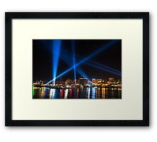 Articulated Intersect 2 Framed Print