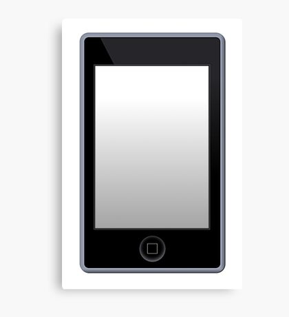 MP3 Phone Player Canvas Print
