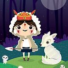 Princess Mononoke by mjdaluz