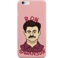 Ron Swanson iPhone Case/Skin