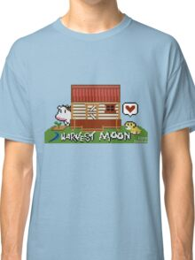 Harvest Moon (SNES) cross stitch design Classic T-Shirt