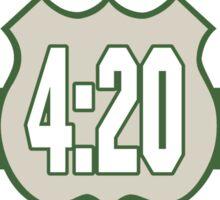 Cannabis 420 Sticker