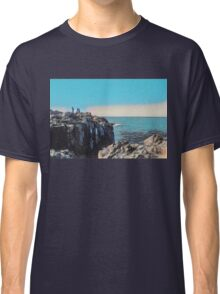 Ocean View by the Rocks Classic T-Shirt