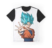 Son Goku SSJB Dragon Ball Super Graphic T-Shirt