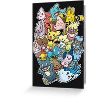 Baby Pokémaniacal Colour Greeting Card