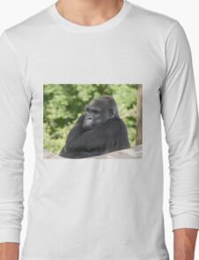 Gorilla atitude and Expression of a human by Olao-Olavia par Okaio créations fz 1000 c4 Long Sleeve T-Shirt