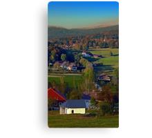 Beautiful autumn scenery | landscape photography Canvas Print