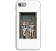 Sexy Women Blonde Models  iPhone Case/Skin