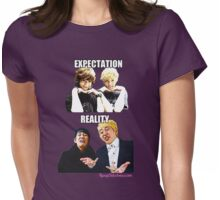 Aegyo VS Derp (Expectation vs Reality) SHINee vs Block B Womens Fitted T-Shirt