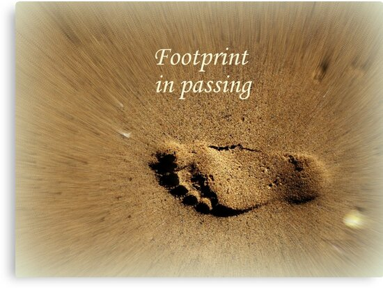 Footprint in Passing by Charmiene Maxwell-Batten