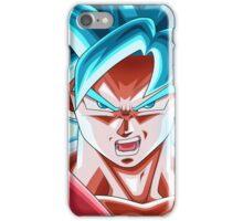 Son Goku SSJ Blue Kaioken X10  iPhone Case/Skin