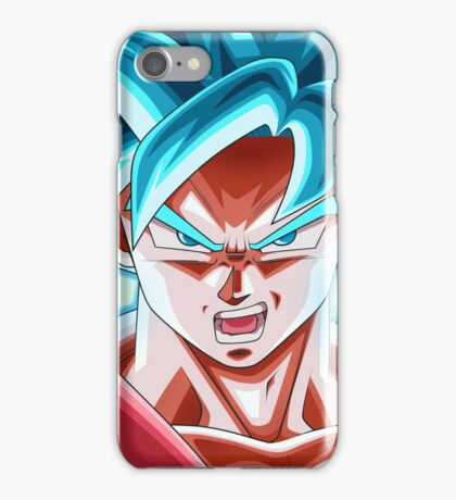 Son Goku SSJ Blue Kaioken X10  iPhone Case/Skin