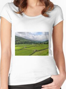 Swaledale Stone Barns Women's Fitted Scoop T-Shirt