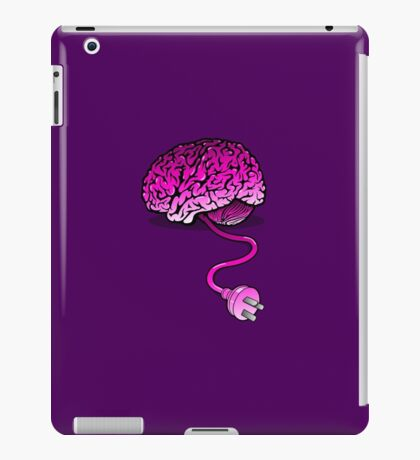 Your Brain without Coffee - Pink iPad Case/Skin