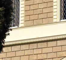 Traditional stone facade, Puglia Sticker