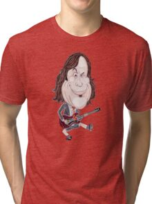Comedy Movie Actor Caricature Drawing Tri-blend T-Shirt