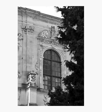 Monochrome facade in Puglia Photographic Print