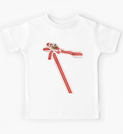 Lonely Christmas wrapping shirt Kids Tee