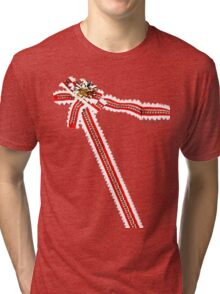 Lonely Christmas wrapping shirt Tri-blend T-Shirt