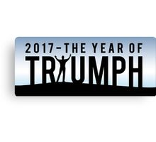 2017 The Year of Triumph  Canvas Print