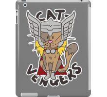 Thor Cat iPad Case/Skin
