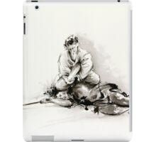 Sumi-e martial arts, samurai large poster for sale iPad Case/Skin