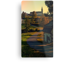 Road up to the hill | landscape photography Metal Print