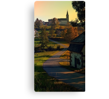 Road up to the hill | landscape photography Canvas Print