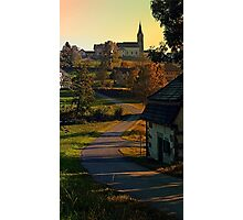 Road up to the hill | landscape photography Photographic Print
