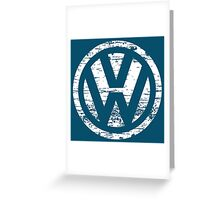 VW The Witty Greeting Card
